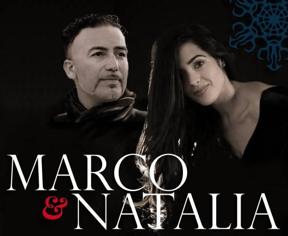 Marco Palladino e Natalia Ochoa